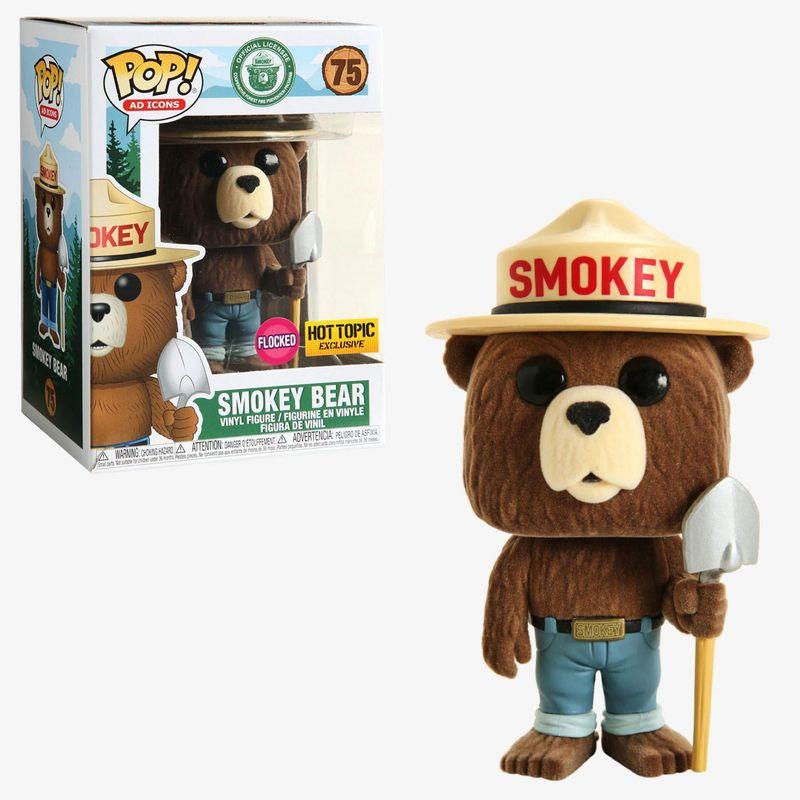 Smokey Bear (Flocked)