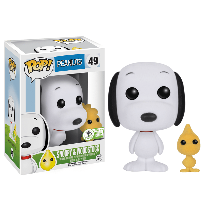 Snoopy & Woodstock (Flocked)