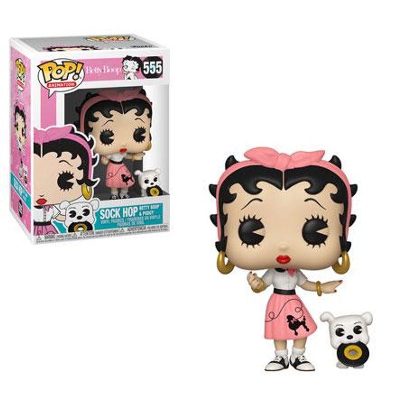 Sock Hop Betty Boop & Pudgy