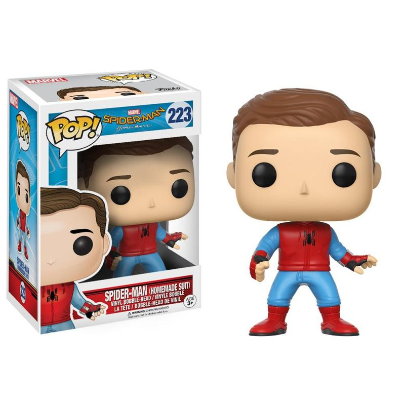 Spider-Man (Homemade Suit) (Unmasked)