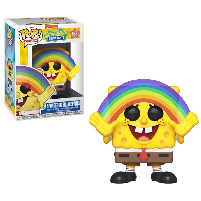 Spongebob Squarepants (with Rainbow)