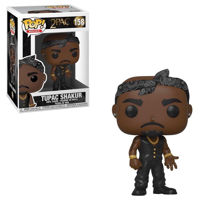 Tupac Shakur (Black Vest)