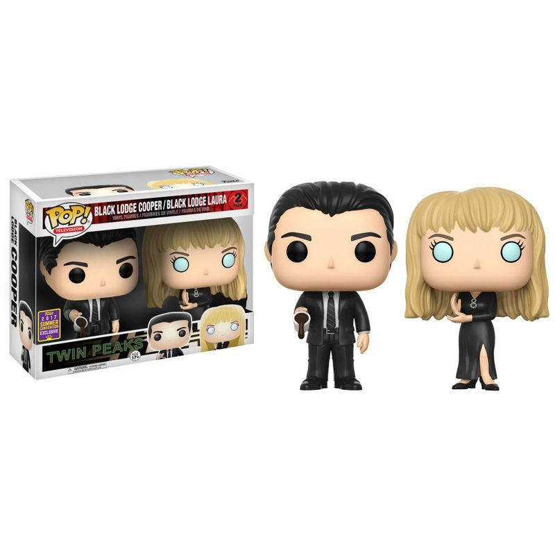 Cooper & Laura (Black Lodge 2-Pack) [Summer Convention]