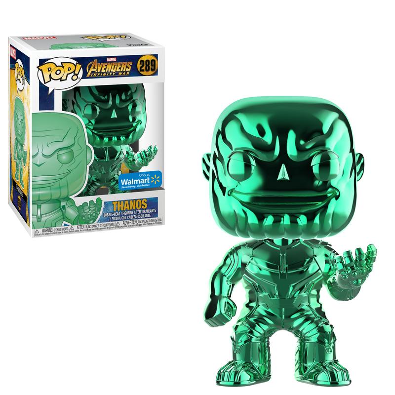 Thanos (Infinity War) (Green Chrome)