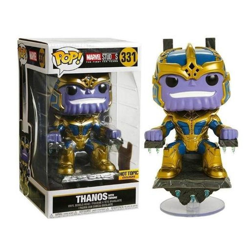 Thanos With Throne