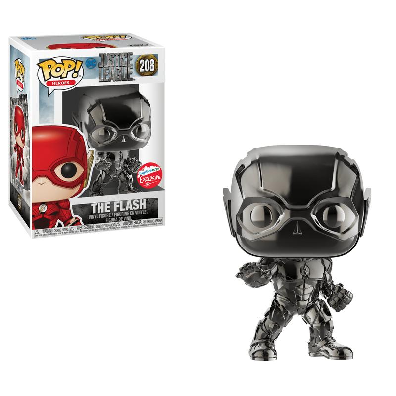 The Flash (Justice League) (Black Chrome)