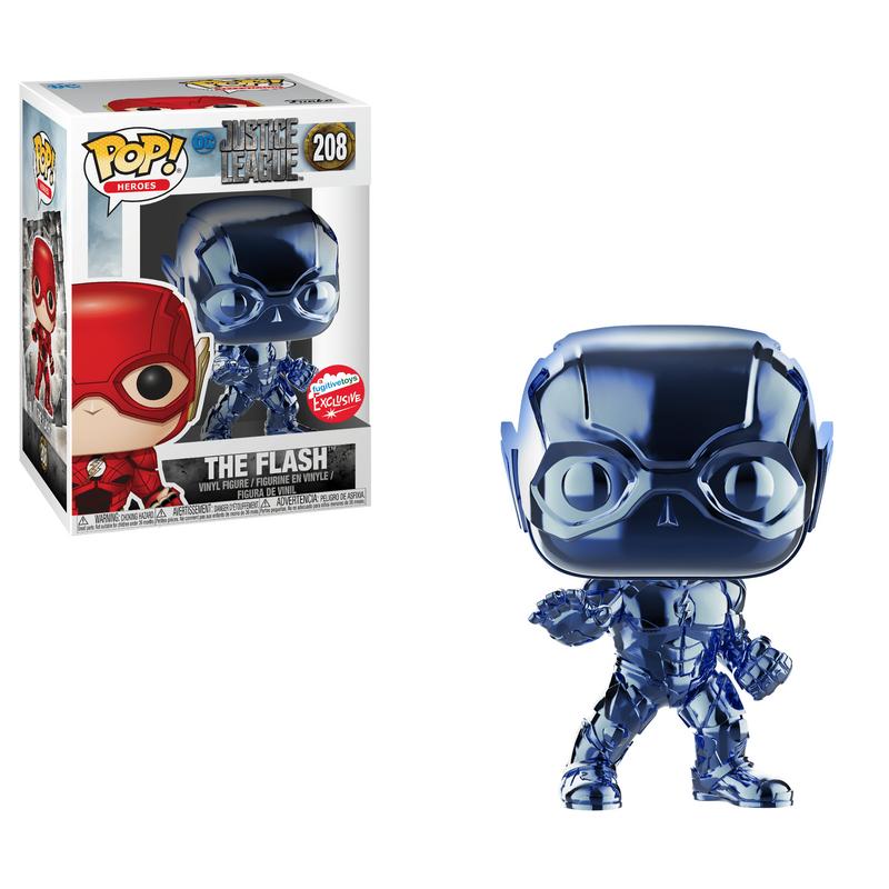 The Flash (Justice League) (Blue Chrome)