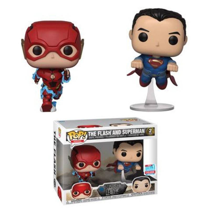 The Flash and Superman (Racing) (2-Pack) [Fall Convention]