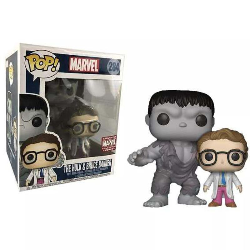 The Hulk and Bruce Banner (2-Pack)