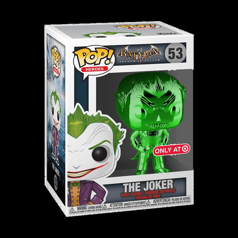 The Joker (Arkham Asylum) (Green Chrome)