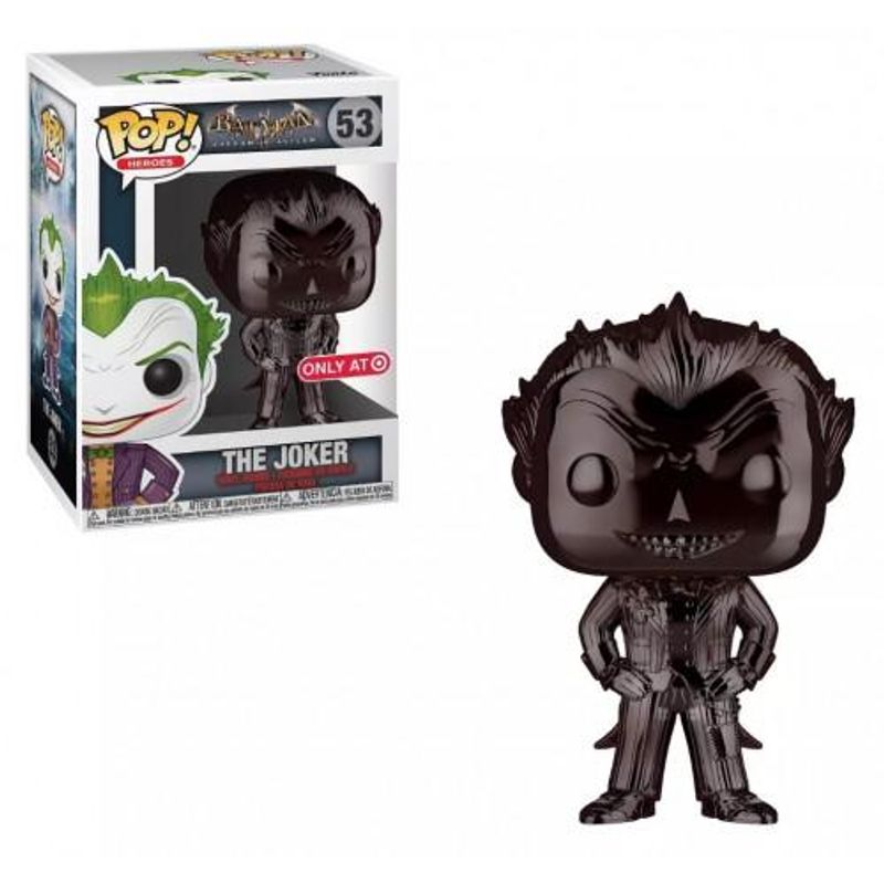 The Joker (Arkham Asylum) (Black Chrome)