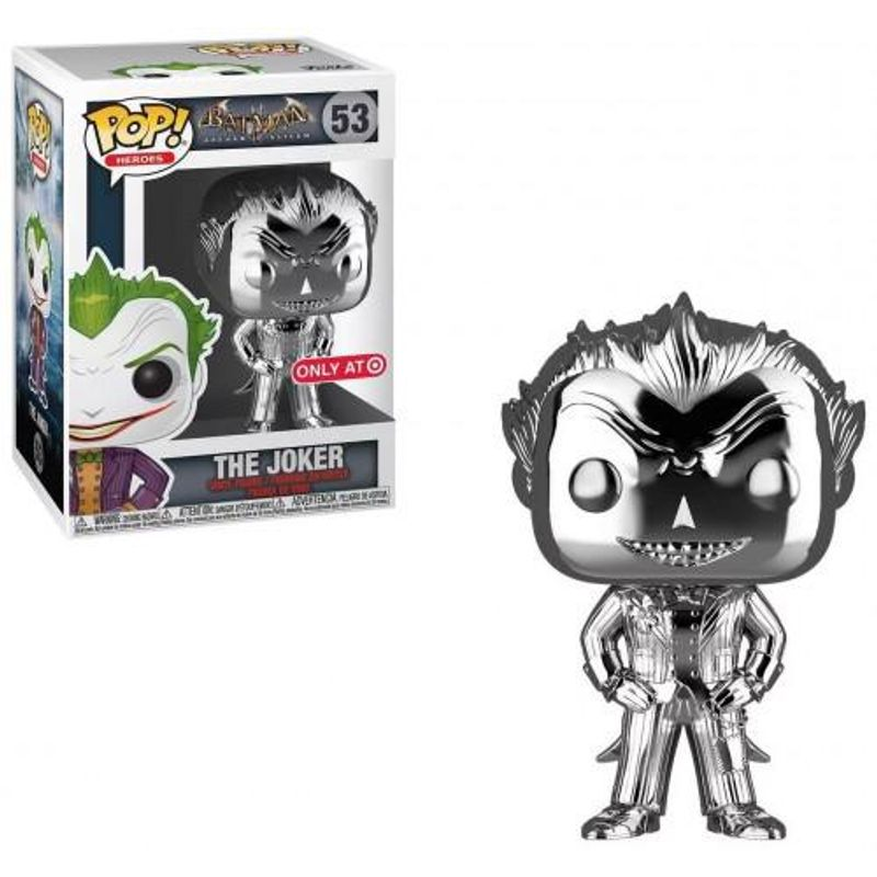 The Joker (Arkham Asylum) (Silver Chrome)