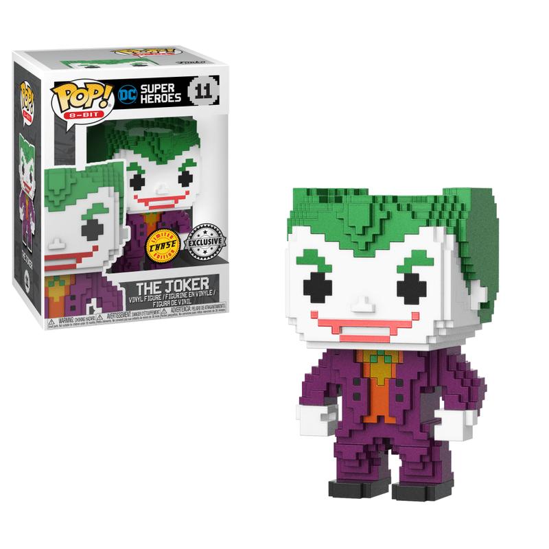 The Joker (Metallic) (8-Bit)