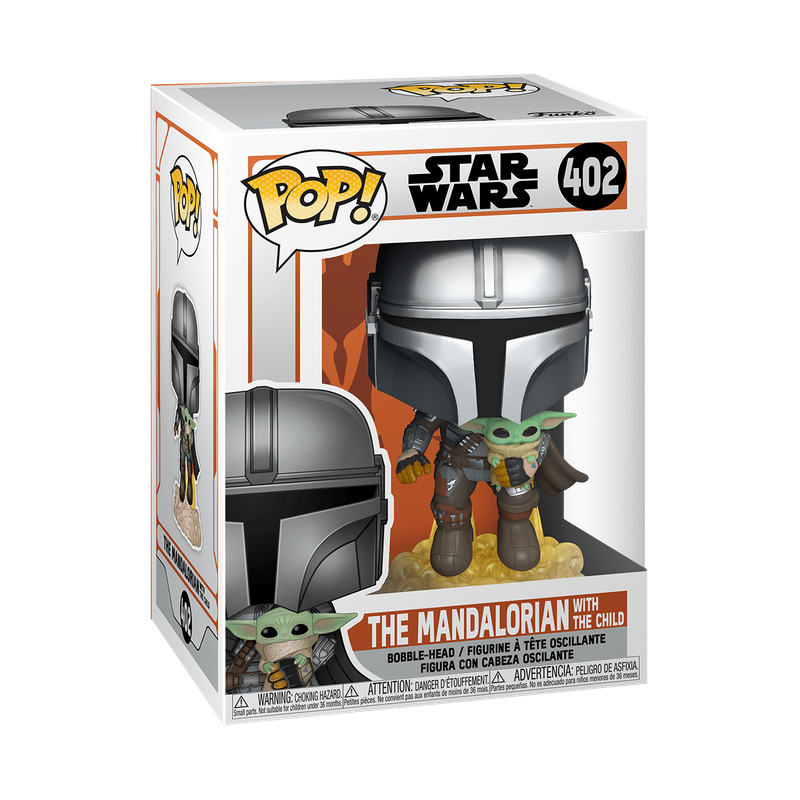 The Mandalorian with the Child