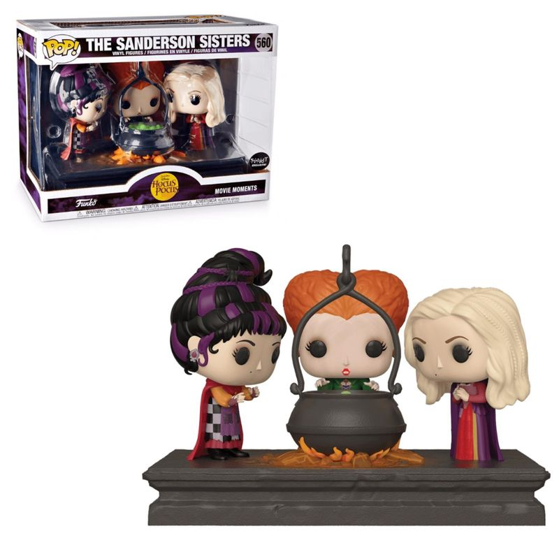 The Sanderson Sisters (with Cauldron)