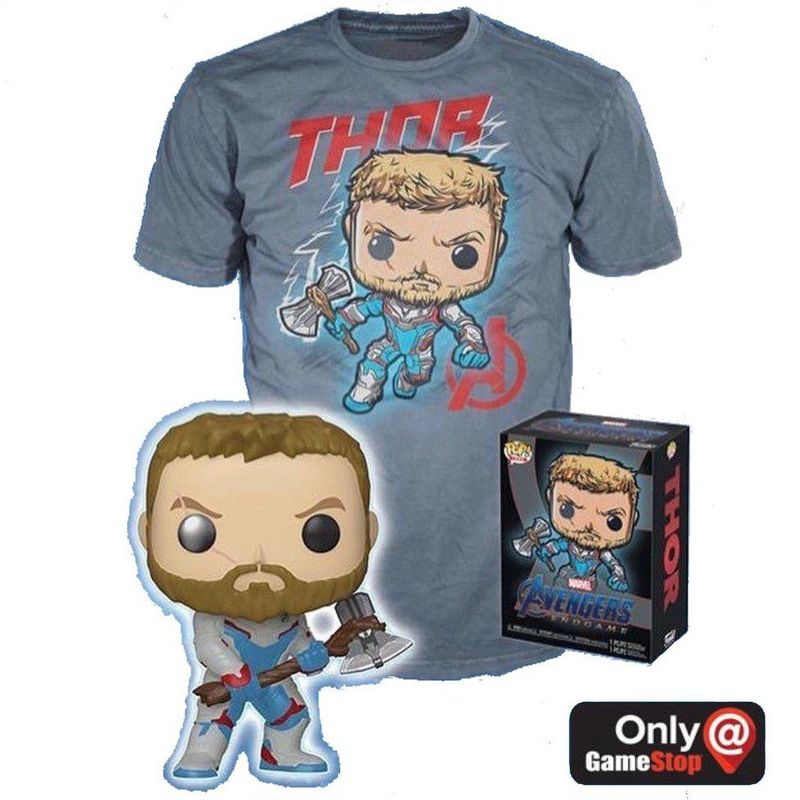 Thor (Quantum Realm Suit) (Glow in the Dark) and Thor Shirt