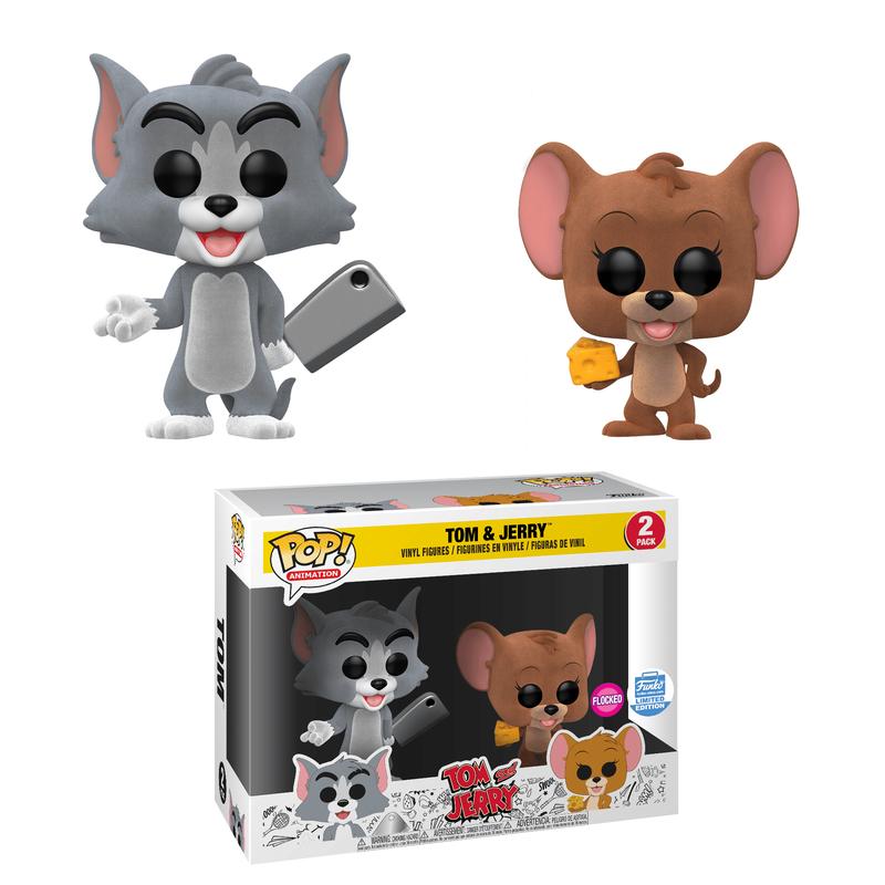 Tom & Jerry (Flocked) (2-Pack)