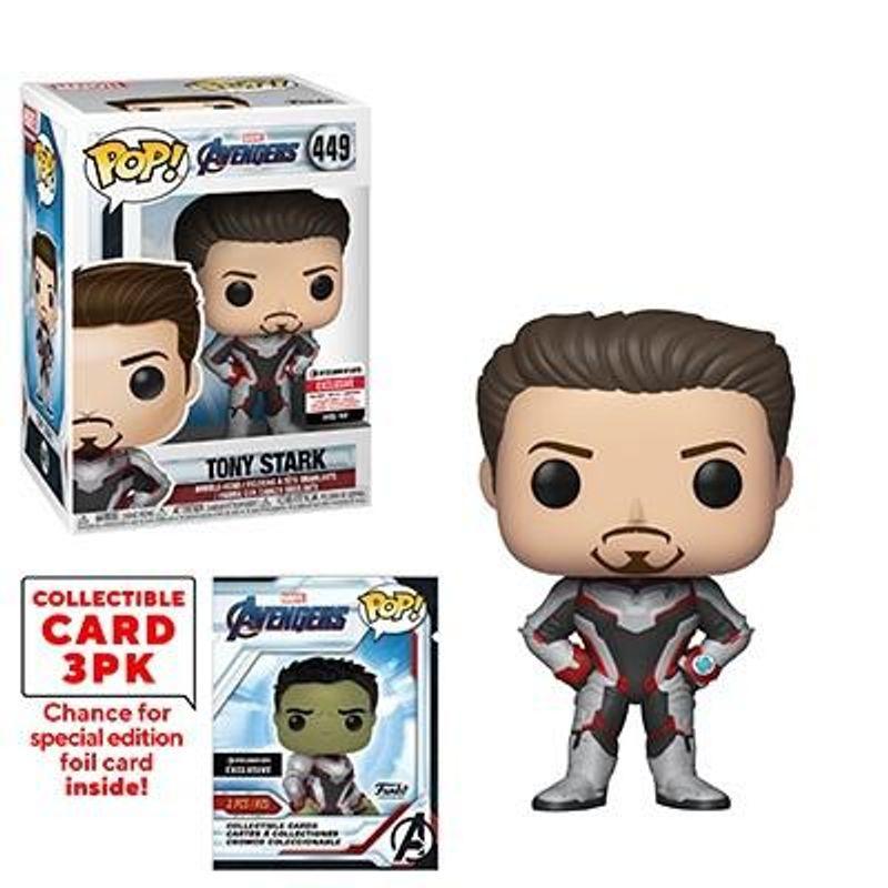 Tony Stark  Collectible Card 3PK