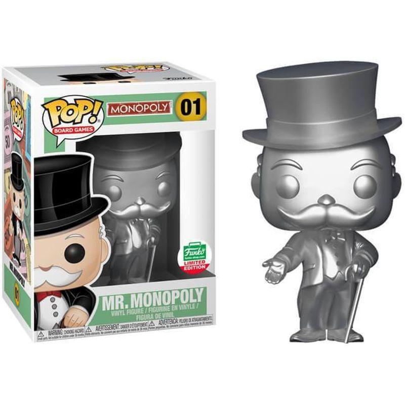 Mr. Monopoly (Silver)