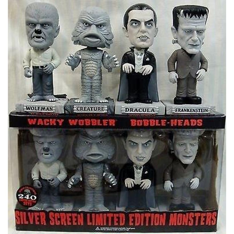 Silver Screen Monsters (4-Pack)
