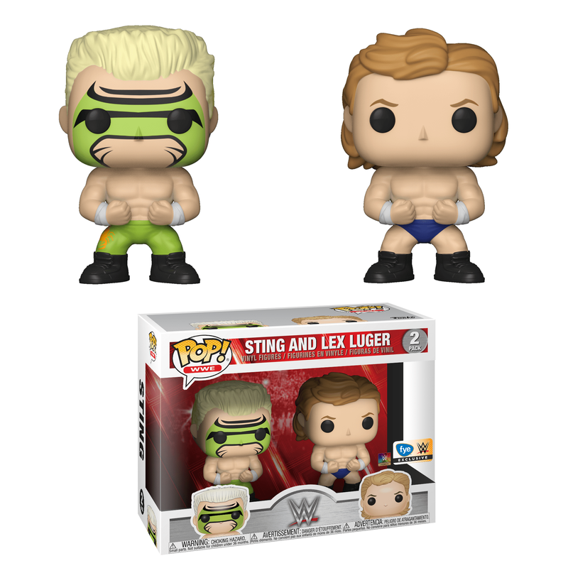 Sting and Lex Luger (2-Pack)