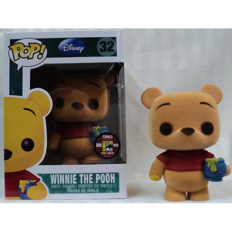 Winnie the Pooh (Flocked)