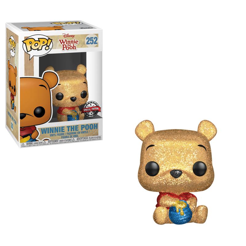 Winnie The Pooh (Sitting) (Diamond Collection)