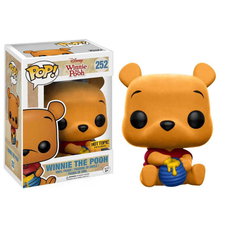 Winnie the Pooh (Sitting) (Flocked)