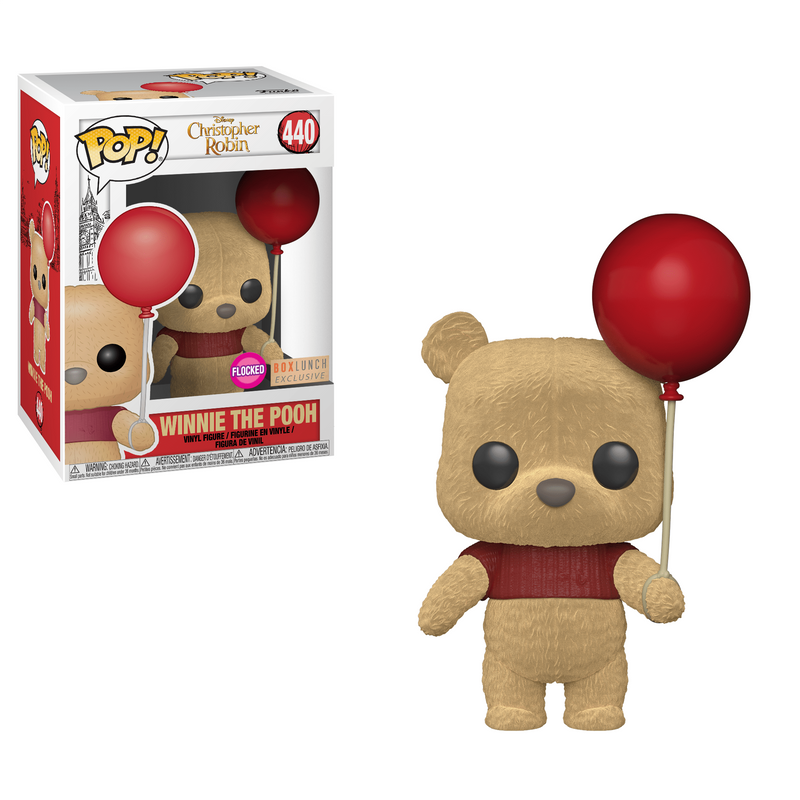 Winnie The Pooh (With Red Balloon)
