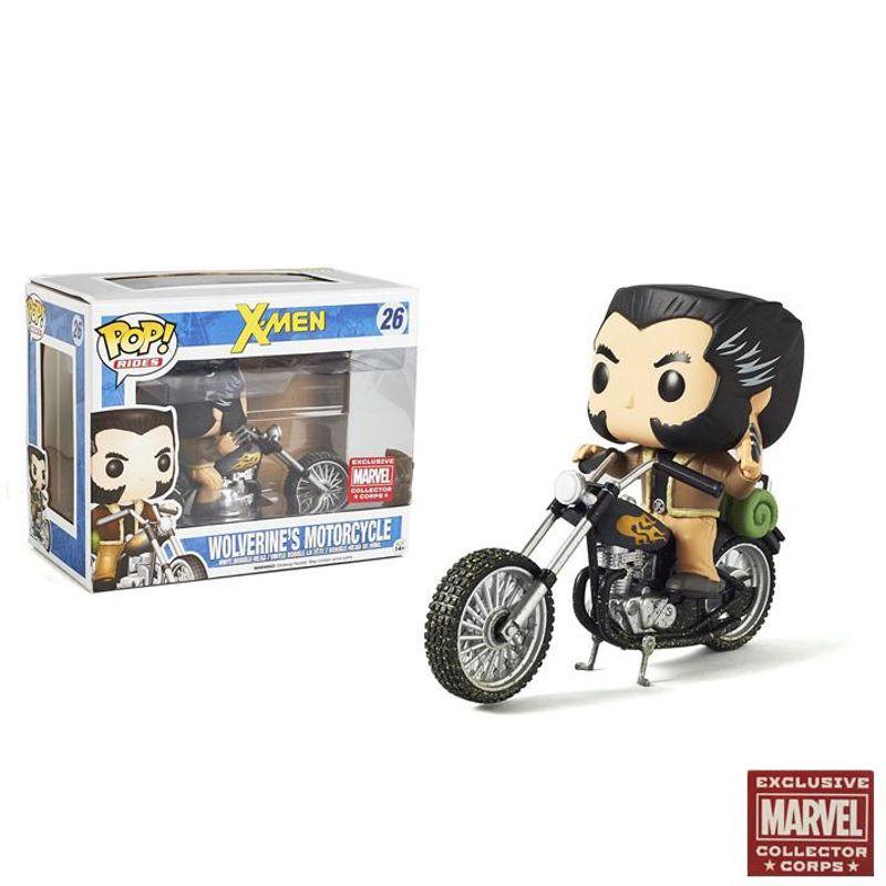 Wolverine's Motorcycle