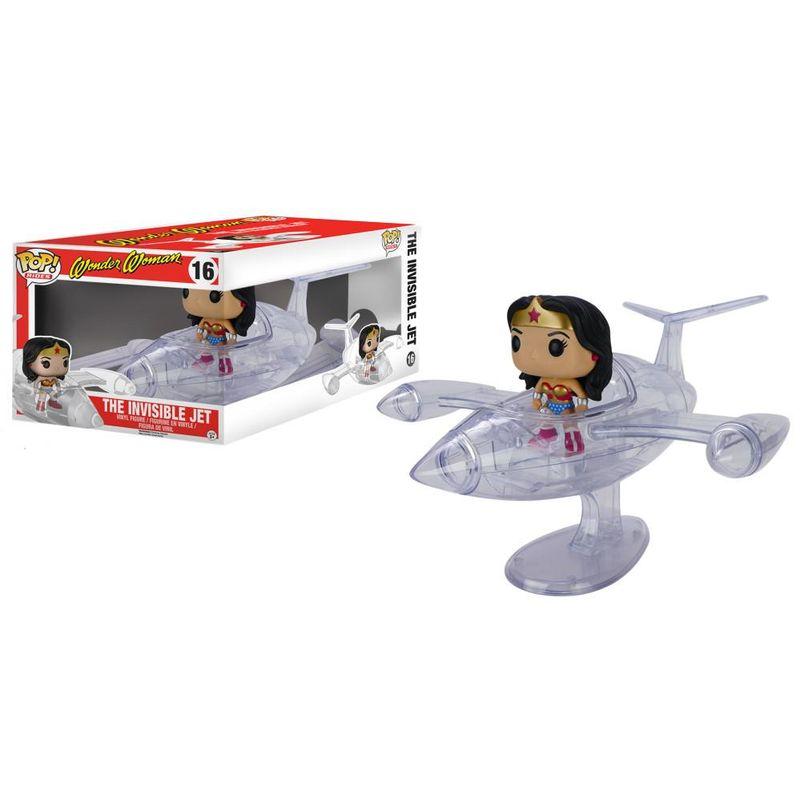 Wonder Woman w/ Invisible Jet