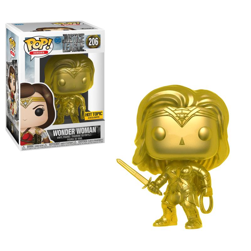 Wonder Woman (Justice League) (Gold)