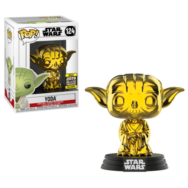 Yoda (Gold Chrome) [Galactic Convention]