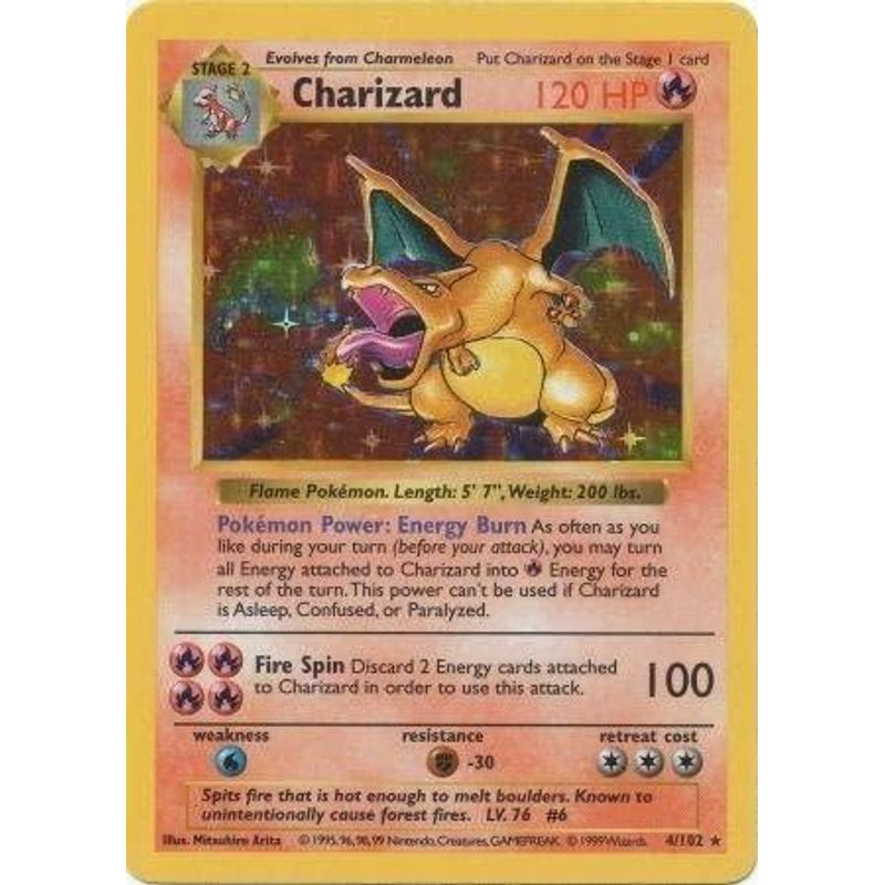 Charizard (Shadowless) - Base