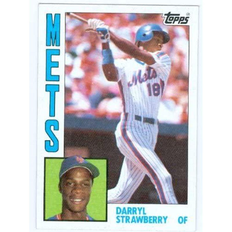 Darryl Strawberry - 1984 Topps