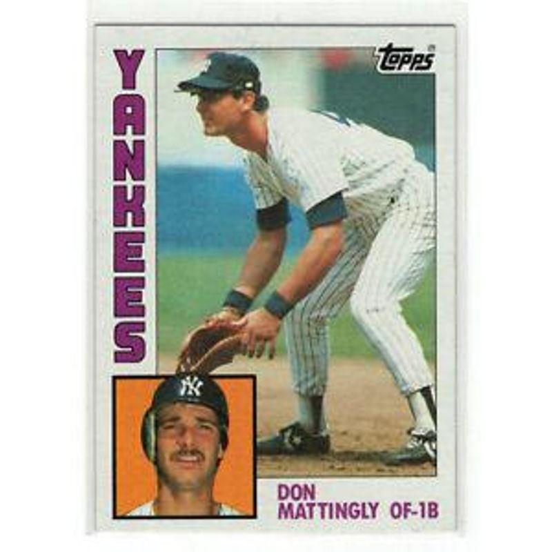 Don Mattingly - 1984 Topps