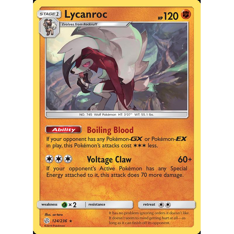 Verified Lycanroc - Cosmic Eclipse Pokemon Cards   Whatnot