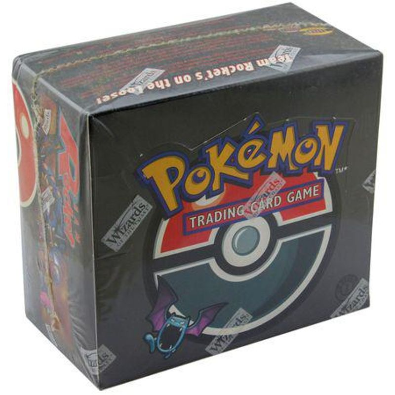 Pokemon Team Rocket Booster box