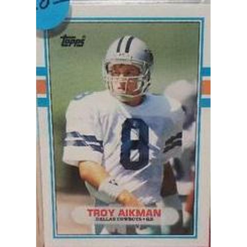 Troy Aikman - 1989 Topps Traded