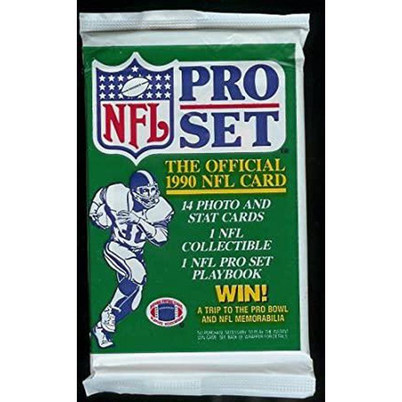 1990 Pro Set Official NFL Card Pack
