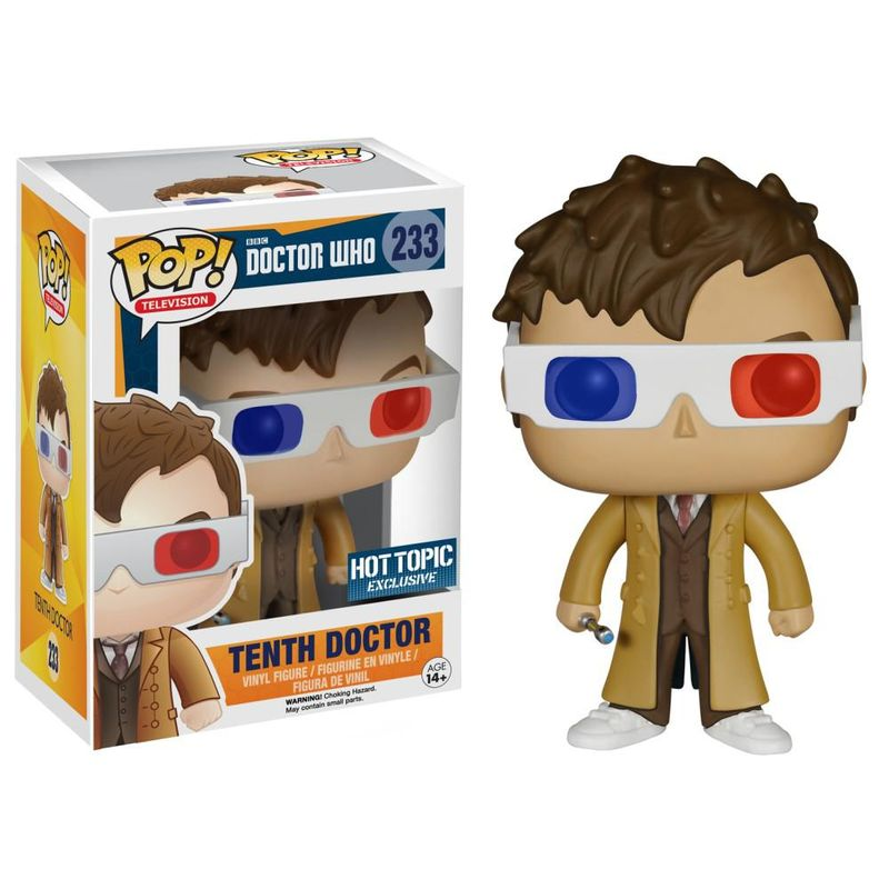 Tenth Doctor (3D Glasses)