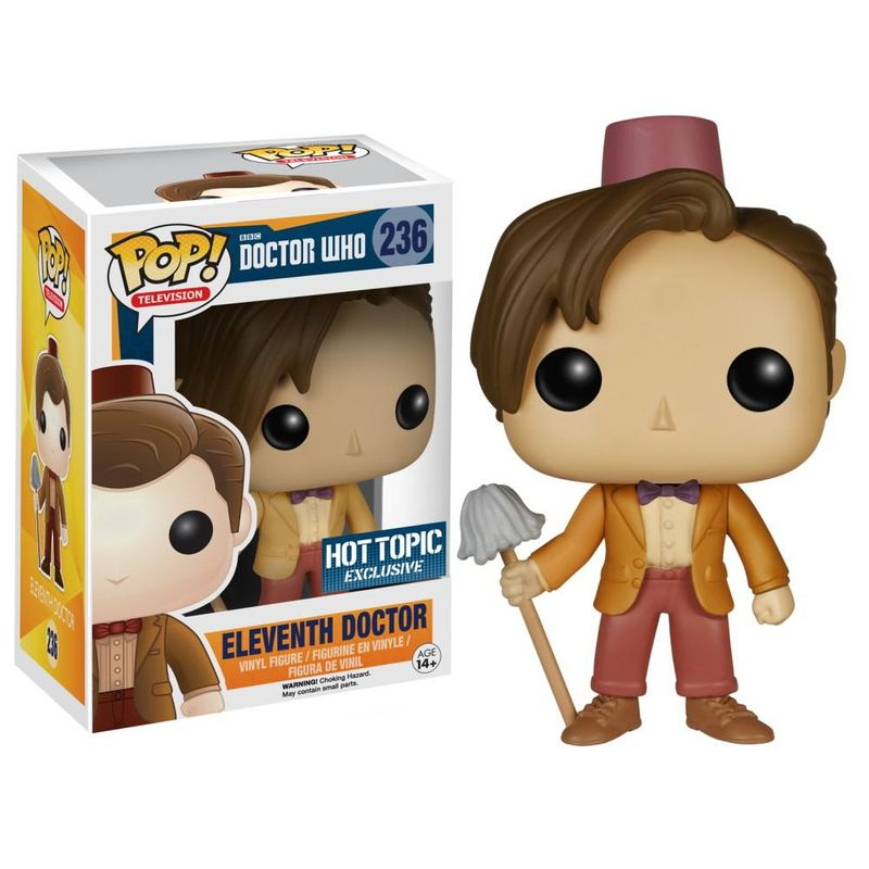 Eleventh Doctor (Fez & Mop)