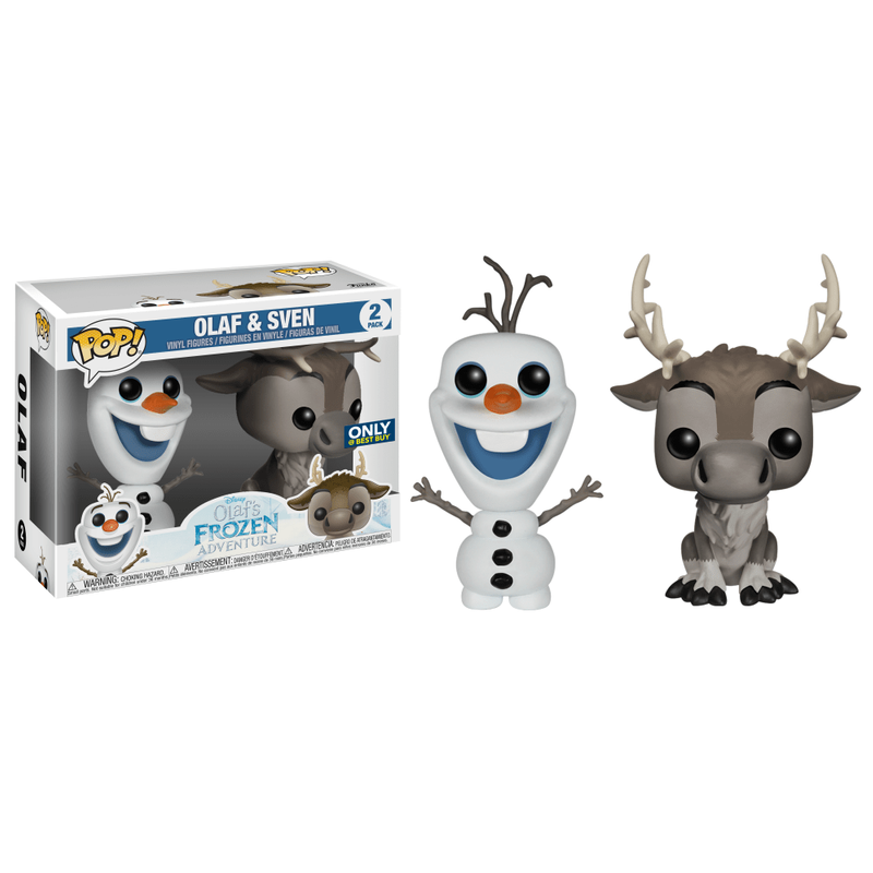 Olaf & Sven (2-Pack)
