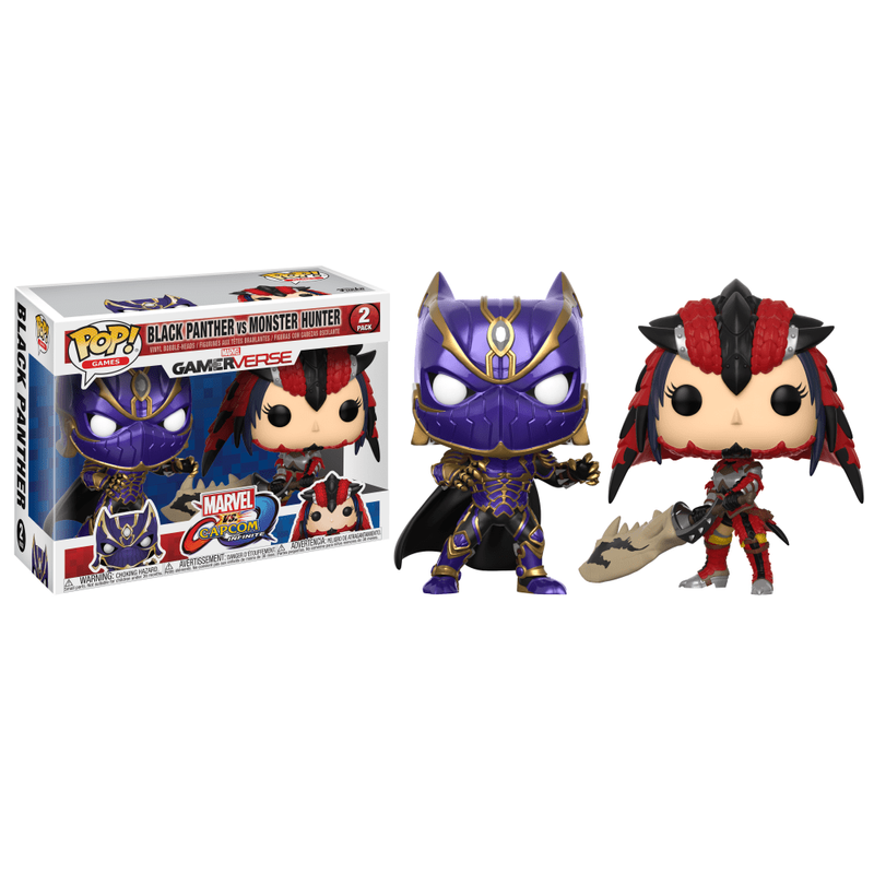 Black Panther vs. Monster Hunter (2-Pack)