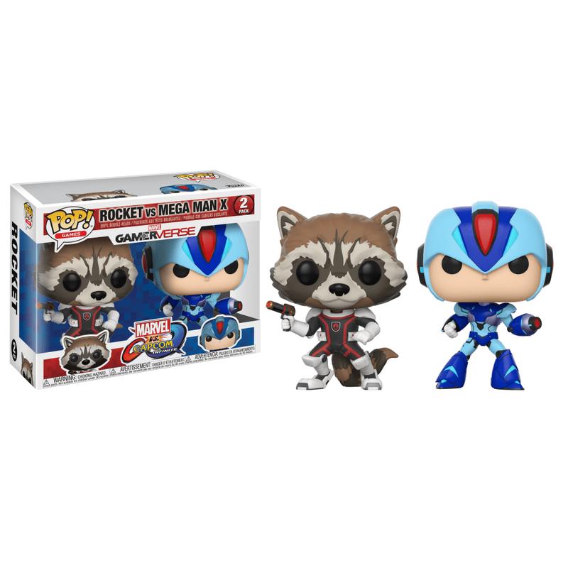 Rocket Raccoon vs Mega Man X (2-Pack)