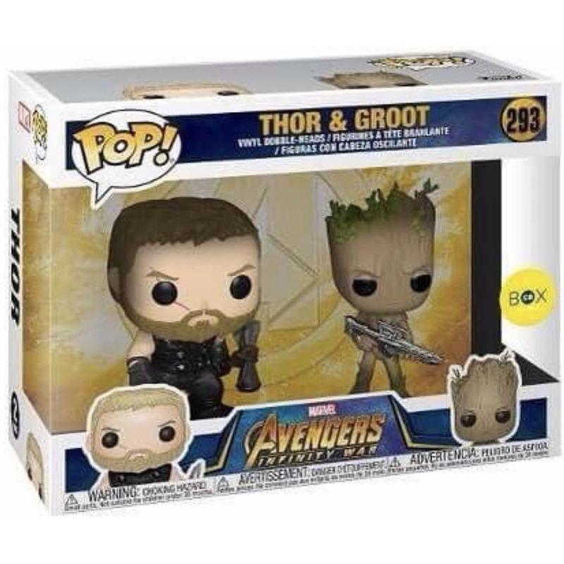 Thor & Groot (2-Pack)
