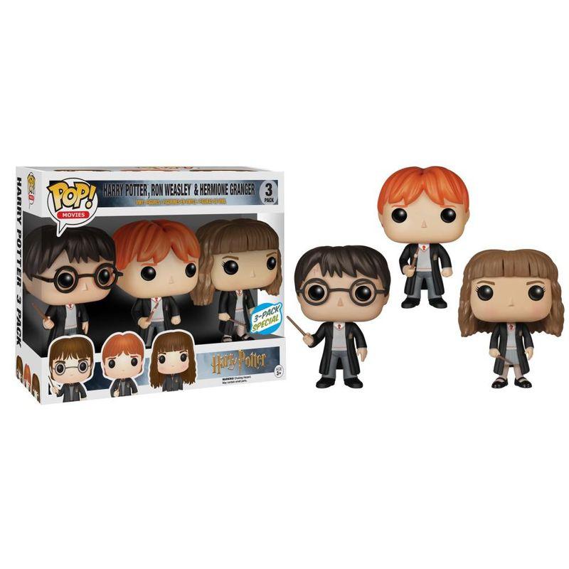Harry Potter, Ron Weasley, & Hermione Granger (3-Pack)
